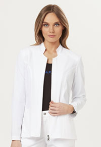 Sapphire Melrose Notched Jacket White (SA300A-WTES)