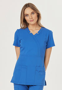 Sapphire Madison Mock Wrap Top Royal (SA600A-ROY)