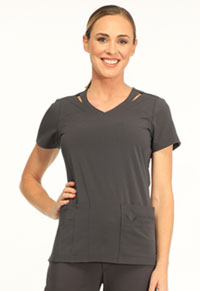 Paris V-Neck Top (SA601A-PWTS)
