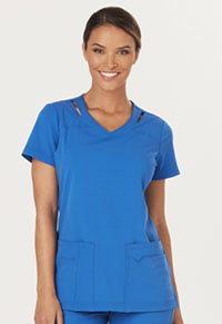 Sapphire Paris V-Neck Top Royal (SA601A-ROY)