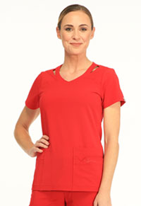 Sapphire Paris V-Neck Top Ruby Red (SA601A-RRDS)