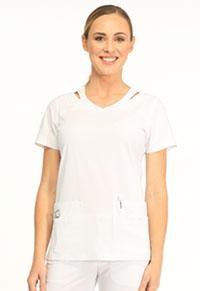 Sapphire Paris V-Neck Top White (SA601A-WTES)