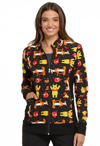 Tooniforms Zip Front Warm-Up Jacket A Bear Likes Honey (TF306-PHAB)