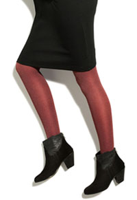 Therafirm 10-15 mmHg Opaque Tights Berry Heathered (TF309-BHTR)