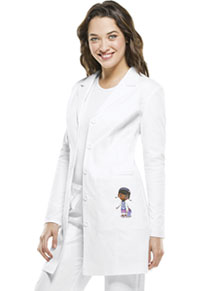 "Licensed Prints 33"" Lab Coat (TF401-WHTW) (TF401-WHTW)"