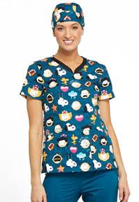 Tooniforms Unisex Scrub Hat Peanuts Emoji (TF502-PNOJ)