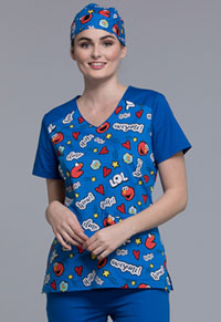 Tooniforms Unisex Scrub Hat Elmo Is Awesome (TF502-SWAW)