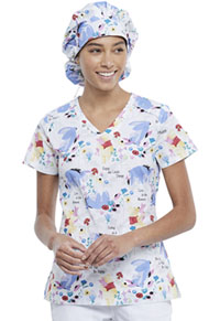 Tooniforms Unisex Bouffant Scrubs Hat Be Eeyore (TF514-PHOR)