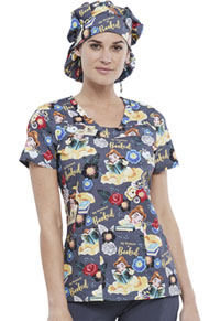 Tooniforms Unisex Bouffant Scrub Hat My Weekend Is Booked (TF514-PRWB)
