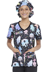 Licensed Prints Unisex Bouffant Scrub Hat (TF514-TOGT) (TF514-TOGT)