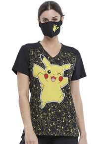 Tooniforms Contoured Reusable Face Covering Pikachu (TF560-PMHU)