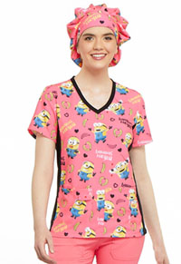 Tooniforms Bouffant Scrub Hat Bananas 4 You (TF599-DPIA)