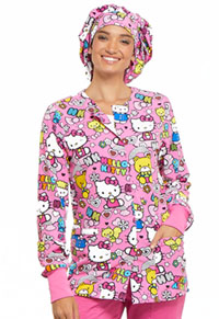 27d11ab7121 Tooniforms Bouffant Scrub Hat Color Me Hello Kitty TF599-HKCS. Licensed  Prints