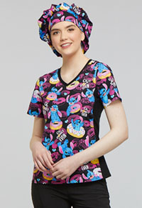 Tooniforms Bouffant Scrub Hat Donut Even (TF599-LHON)