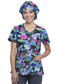 Tooniforms Bouffant Scrub Hat Surfin' Stitch (TF599-LHSS)