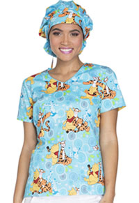 Tooniforms Bouffant Scrub Hat My Tigger Friend (TF599-PHGG)