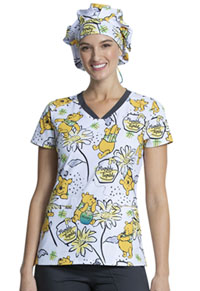 Licensed Prints Bouffant Scrubs Hat (TF599-PHLY) (TF599-PHLY)