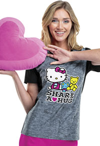 Tooniforms V-Neck Top Hello Kitty Share (TF602XB6-HKET)
