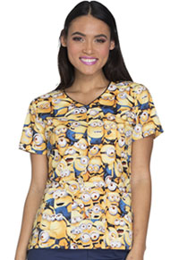 Tooniforms V-Neck Top Millions Of Minions (TF614-DPMM)