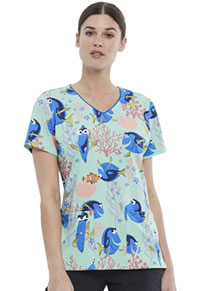 Tooniforms V-Neck Top Dory State Of Mind (TF614-FNAT)