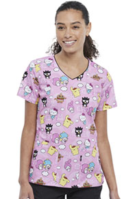 Tooniforms V-Neck Top Hello Sanrio Town (TF614-HSNT)
