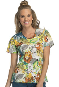 Tooniforms V-Neck Top Savanna Friends (TF614-LKSF)