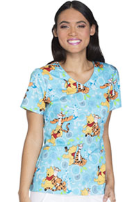 Tooniforms V-Neck Top My Tigger Friend (TF614-PHGG)
