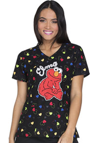 Tooniforms V-Neck Top Sweet Elmo (TF614-SWSW)