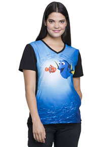 Tooniforms V-Neck Top Dory And Nemo (TF627-FNDN)