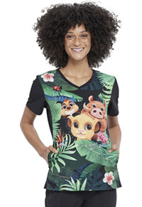 Tooniforms V-Neck Top Wild Things (TF627-LKWI)