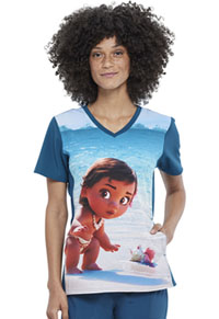 Tooniforms V-Neck Top Baby Moana (TF627-MHBM)