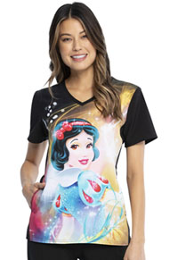 Tooniforms V-Neck Top Snow White Magic (TF627-PRAC)