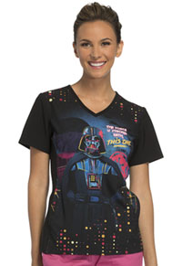 Tooniforms V-Neck Top The Force Is Strong (TF627-SRTF)