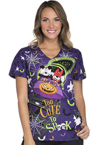 Tooniforms V-Neck Top Too Cute To Spook (TF629-MKTC)