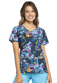 Tooniforms V-Neck Top Nemo Fin-tastic (TF633-FNFN)