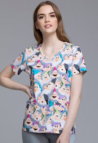 Tooniforms V-Neck Top The Seven Dwarfs (TF633-PRSD)