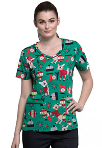 Tooniforms V-Neck Top Rudolph Joy (TF633-RUJO)