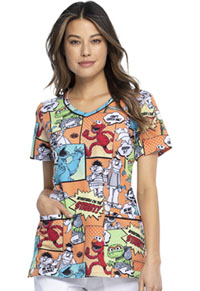 Tooniforms V-Neck Top Street Adventures (TF633-SWDU)