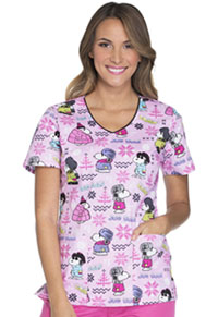 Tooniforms V-Neck Top Ice Cold Snoopy (TF635-PNIC)