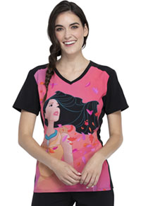 Tooniforms V-Neck Top Pocahontas (TF637-PRHO)