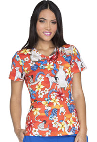 Tooniforms V-Neck Top Jungle Friends (TF638-JBJF)