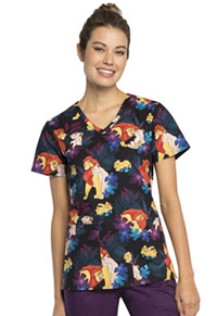 Tooniforms V-Neck Top Family Pride (TF638-LKFP)
