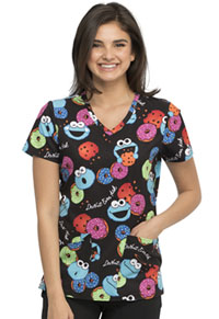 Tooniforms V-Neck Top Cookie Mix (TF638-SWIX)