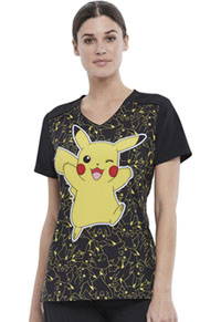 Tooniforms V-Neck Top Pikachu 025 (TF639-PMPZ)