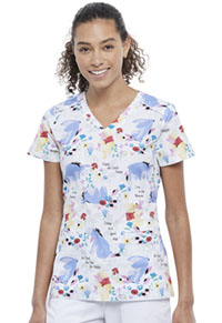Tooniforms V-Neck Top Be Eeyore (TF666-PHOR)