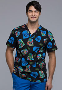 Tooniforms Men's V-Neck Top Darth On Holiday (TF676-SROH)