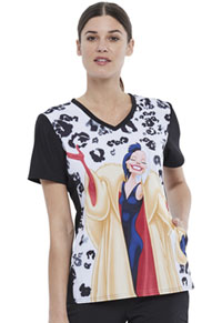 Tooniforms V-Neck Top Cruella (TF677-VICR)