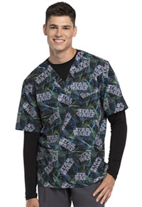 Tooniforms Unisex V-Neck Top Laser Tag (TF701-SRAG)