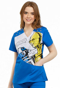 Tooniforms V-Neck Top Artoo (TF705-SRAT)