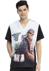 Tooniforms Men's V-Neck Top Chewie (TF708-S8CH)